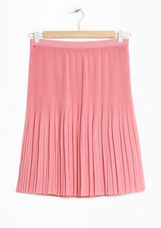 & Other Stories | Mini Pleats Crepe Skirt