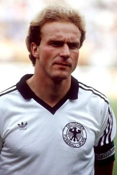 Karl-Heinz Rummenigge - Bayern Munich, Internazionale, Servette FC, West Germany.
