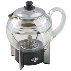 1934 Machine Age Coffee Percolator by Ambrose Olds for Coleman   From a unique collection of antique and modern glass at https://www.1stdibs.com/furniture/dining-entertaining/glass/