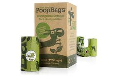pick it up with our awesome poop bags!