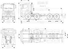 Resultado de imagem para truck blueprint