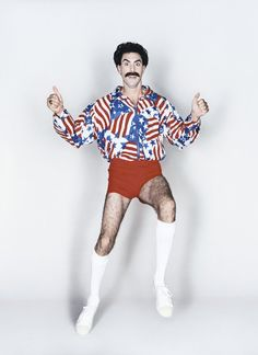 Sacha Baron Cohen. Borat. This movie will never get old to me.