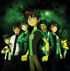 BEN 10 - Like the illustrative style of main character