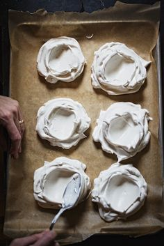 making pavlovas | Farmhouse Table // Jody Horton