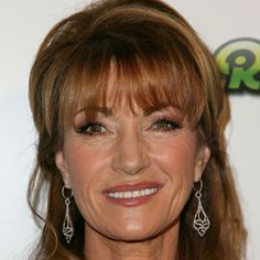 """Jane Seymour, mom of four, shared in 2011: """"I actually lost a pregnancy live on television, announcing the Rose Parade, but nobody knew at the time."""" Sir Gilbert, Pretty Redhead, The Sun Also Rises, Liberal Party, Jane Seymour, Aged To Perfection, British Actresses, Actress Photos, Her Hair"""