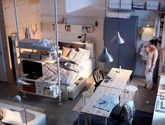 This studio apartment makes me drool. I confess! - via ikea.com ...