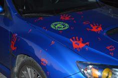 zombie killer halloween Suabru WRX Wrx, Beast, Halloween, Vehicles, Blue, Halloween Labels, Vehicle, Spooky Halloween, Tools