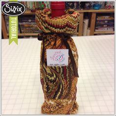 Sizzix Die Cutting Tutorial | Wine Gift Bag by Ebony Love