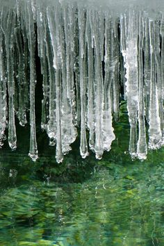 Icicles, since i was a child i was always fascinated with icicles <3