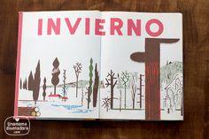 Estaciones, un cuento para niños minimalista