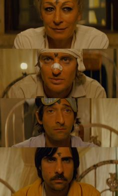 """""""Maybe we could express ourselves more fully if we say it without words.  Should we try that?""""  -Darjeeling Limited"""