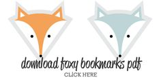 Fox Bookmarks - Free Printables, DIY by www. Fox Crafts, Diy Arts And Crafts, Diy Craft Projects, Paper Crafts, Craft Ideas, Diy Bookmarks, Corner Bookmarks, Bookmark Template, The Fox And The Hound