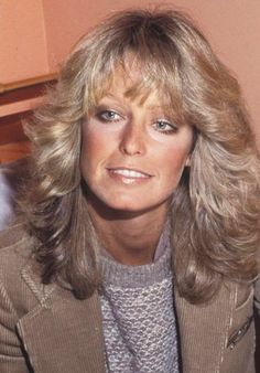 images about Farrah Fawcett & Charlies Angels on . Medium Curly Haircuts, Stacked Bob Hairstyles, Feathered Hairstyles, Divas, Corpus Christi, Famous Cheerleaders, Santa Monica, Mother Of The Bride Hair, Golden Blonde Hair