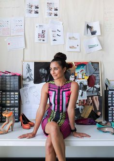 Jodie Fox of Shoes Of Prey. Photo - Phu Tang for thedesignfiles.net