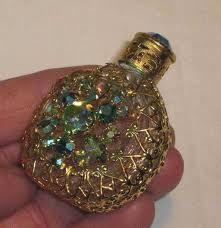 Vintage Ornate perfume bottles!