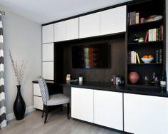 Modern Home-office. ホームオフィスのインテリアコーディネイト実例