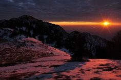 """A """"winter sunset"""" in Velebit National Park was Gadling's photo of the day in early March. Beautiful."""