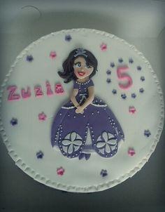 Sofia cake for small princess