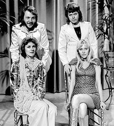 * ABBA * 1974.  From Sweden. 1. Anni-Frid Lyngstad & Agnetha Fältskog; 2. Benny Andersson &  Björn Ulvaeus.