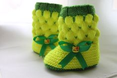 Baby bootieschildren's shoes от mytrych на Etsy