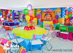 play doh decorations party - Google Search