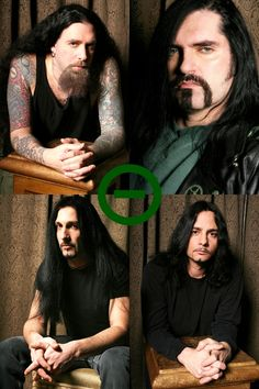 Type O Negative - Josh, Pete, Johnny, Kenny Doom Metal Bands, Heavy Metal Bands, Rock Bands, Music Love, Good Music, My Music, Type 0 Negative, Dark Spirit, Blood Type Diet