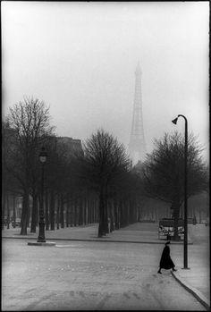 henri cartier-bresson misty eiffel tower - Google Search