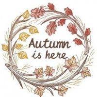 Autumn days are here again - happy Fall!