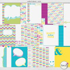 Write It Down Vol.4 by Dunia Designs at Scrapflower