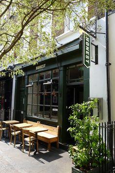 Honest Burger, London #外觀 #招牌