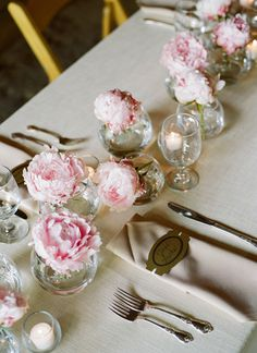 simple peony centerpiece | Lynnesy Catron