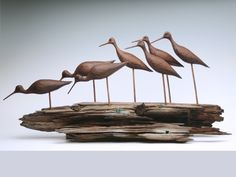 Decoy Auction - Refuge Museum - Zeb's Auctions | Zeb's Auctions Zeb's Auctions | Decoy Auction - Refuge Museum - Zeb's Auctions Clay Birds, Ceramic Birds, Ceramic Animals, Wooden Animals, Decoy Carving, Wood Carving Art, Bird Sculpture, Animal Sculptures, Ceramic Painting