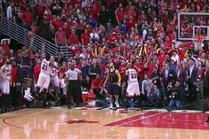 LeBron James buries Bulls with fadeaway at the buzzer to win Game 4