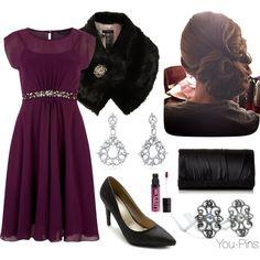 Purple dress with #lillarose you-pins!