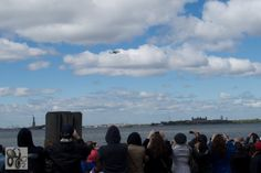The Space Shuttle Enterprise Arriving In New York City (April 27, 2012) #9