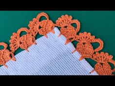 Crochet Leaves, Crochet Flowers, Crochet Designs, Crochet Stitches, Saree Tassels Designs, Crochet Boarders, Hand Embroidery Videos, Crochet Cushions, Embroidery