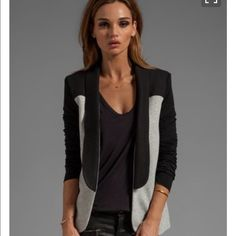 PENCEY Standard Warrior Blazer Insanely adorable PENCEY Standard Warrior Blazer in Black and Gray. New with Tags size XS (fits more like small) 70% cotton 30% polyester Pencey Jackets & Coats Blazers