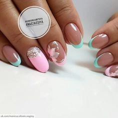 I love how thin the French tips are, not necessarily the whole design.
