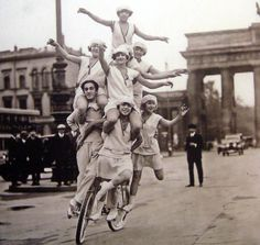 Berlin was a center of the roaring twenties in Germany. After the end of Imperial Germany a period of very liberal lifestyle followed known as die Goldenen Zwanziger