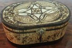 Large jewelry box - Symphony - pyrography by Jimi