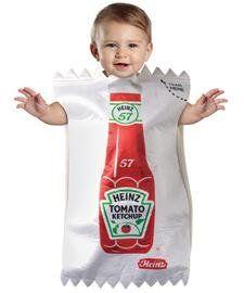Baby Heinz Ketchup Package Bunting