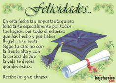 Happy Birthday Wishes Spanish, Happy Birthday Quotes, Graduation Day, Graduation Photos, Photo Balloons, Lilac Wedding, Spiritual Messages, Ideas Para Fiestas, Message Card
