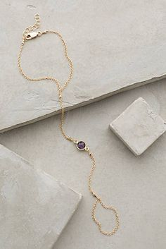at Anthrpologie Amethyst Hand Chain Stylish Jewelry, Jewelry Accessories, Fashion Accessories, Women Jewelry, Jewels Clothing, Body Jewelry, Jewelry Box, Jewelry Ideas, Jewelry Making