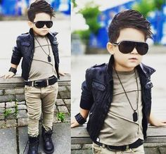 New baby boy haircut before and after Ideas Stylish boys New baby boy haircut before and after Ideas Little Boy Outfits, Little Boy Fashion, Kids Fashion Boy, Toddler Fashion, Baby Boy Outfits, Baby Boy Haircuts, Outfits Niños, Leather Jacket Outfits, Leather Boots