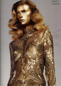 Sigrid Agren in Pop Magazine Fall/Winter 2011.