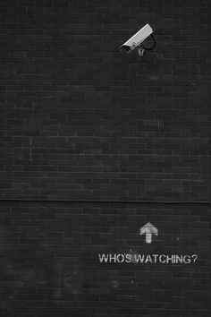 Who's Watching [click on this image to find a short video for use in exploring surveillance and Foucault's concept of the panopticon]
