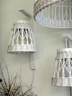 Новости Wicker Pendant Light, Newspaper Crafts, Basket Weaving, Rattan, Lighting, Diy, Baskets, Home Decor, Toilet Decoration