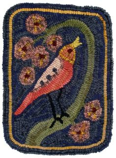 "annie hayes rugs, ""Singing Bird"""