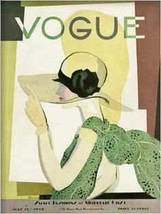 Vogue May 1928 ~ Art by Georges Lepape