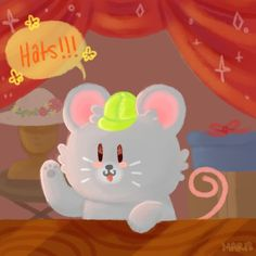 Stardew Valley - Hat Mouse by squithulu.deviantart.com on @DeviantArt